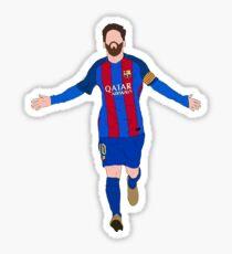 Leo Messi Celebration Sticker
