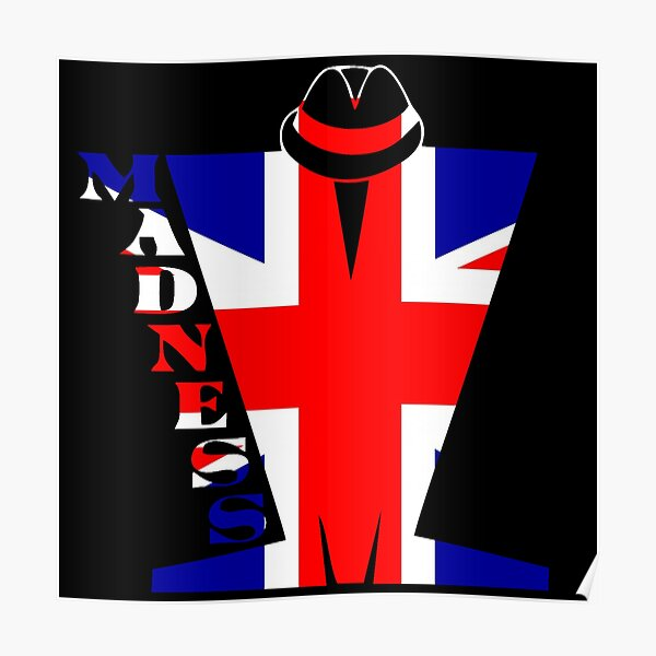 Madness Union Jack Poster