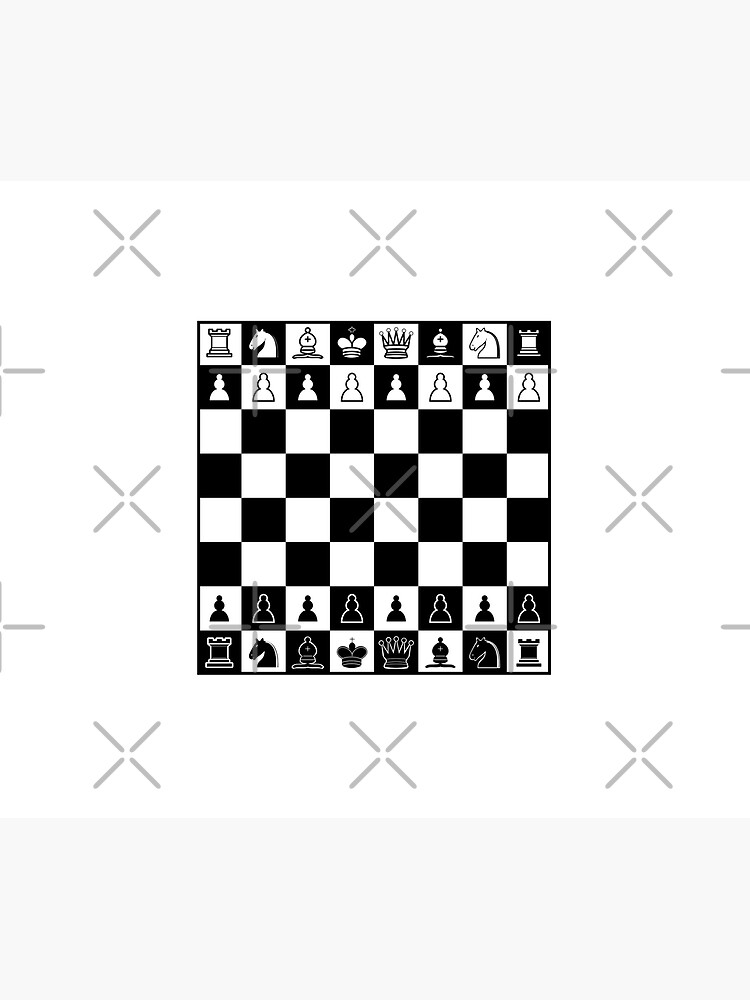Chess Board by TLTextiles