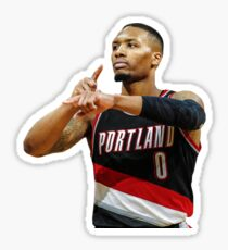 Damian Lillard Sticker