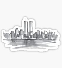Never forget 9-11 Sticker