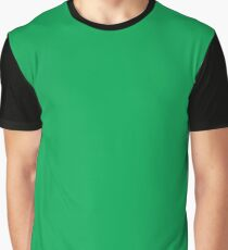 Green (Pigment) Graphic T-Shirt