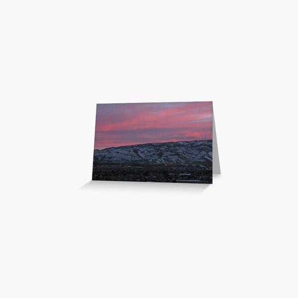 Pink Skies Greeting Card