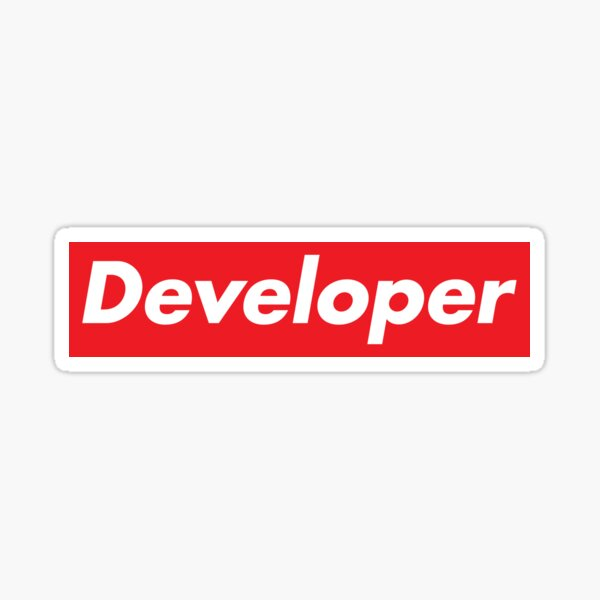 Developer Supreme Sticker