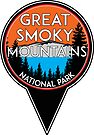 Great Smoky Mountains National Park Map Pointer Marker Tennessee North Carolina by MyHandmadeSigns