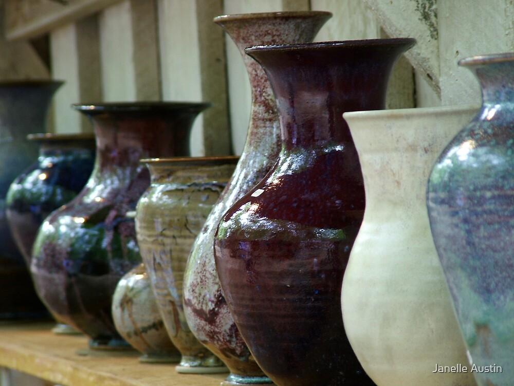 Ceramic Jars by Janelle Austin