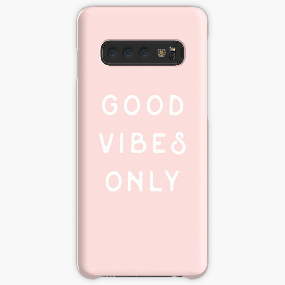 Good Vibes Only Case & Skin for Samsung Galaxy
