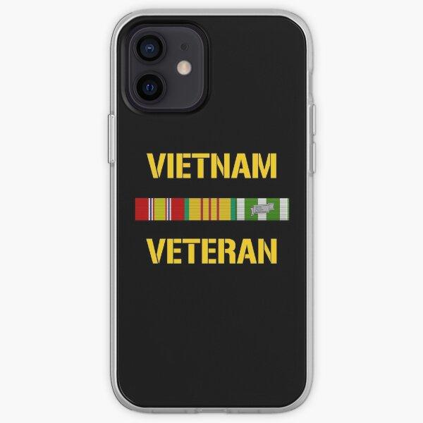 Vietnam Veteran Ribbon Bar iPhone Soft Case