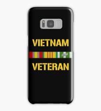 Vietnam Veteran Ribbon Bar Samsung Galaxy Case/Skin