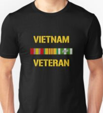 Vietnam Veteran Ribbon Bar T-Shirt