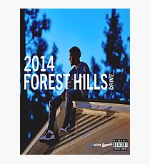 J. Cole 2014 FHD Photographic Print