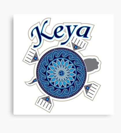 Turtle Keya Canvas Print