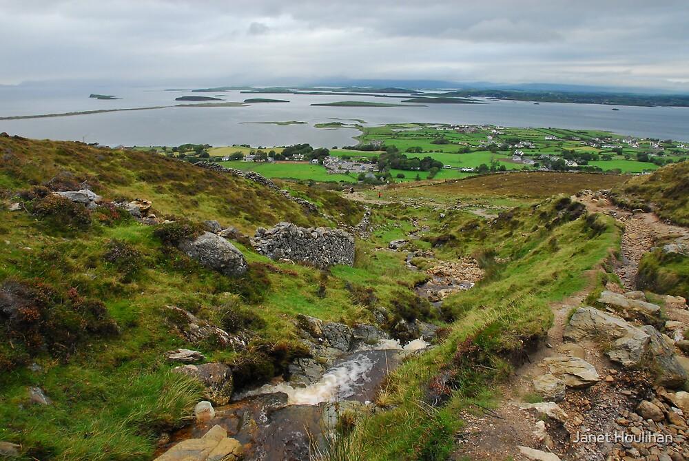 Pilgrimage up Croagh Patrick, Ireland by Janet Houlihan