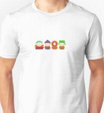 South Park Bus Stop Crew Unisex T-Shirt