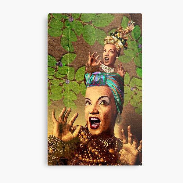 Матрёшка Miranda (Carmen is a Matryoshka) Metal Print