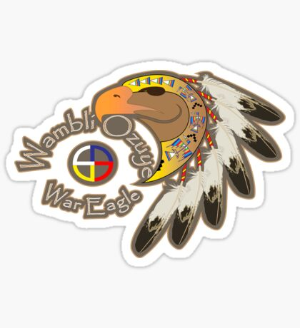 War Eagle (Wambli Ozuye) Sticker