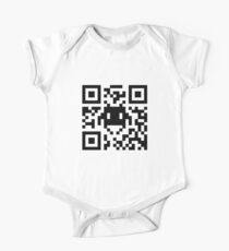 Space Invaders QR Code Kids Clothes