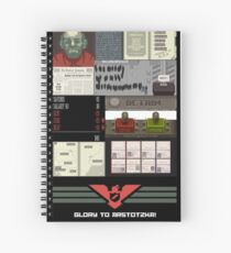Papers, Please Spiral Notebook