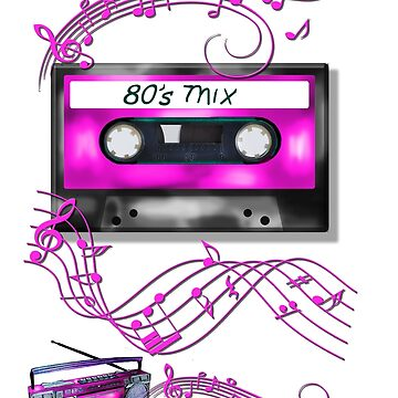 Tape Me Back to the 80's by TMEubanks
