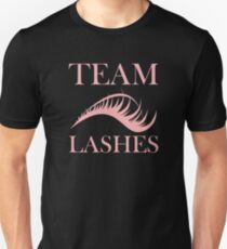 Team Lashes Girl Gender Reveal T-Shirt T-Shirt