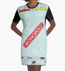 Monopoly Board Graphic T-Shirt Dress