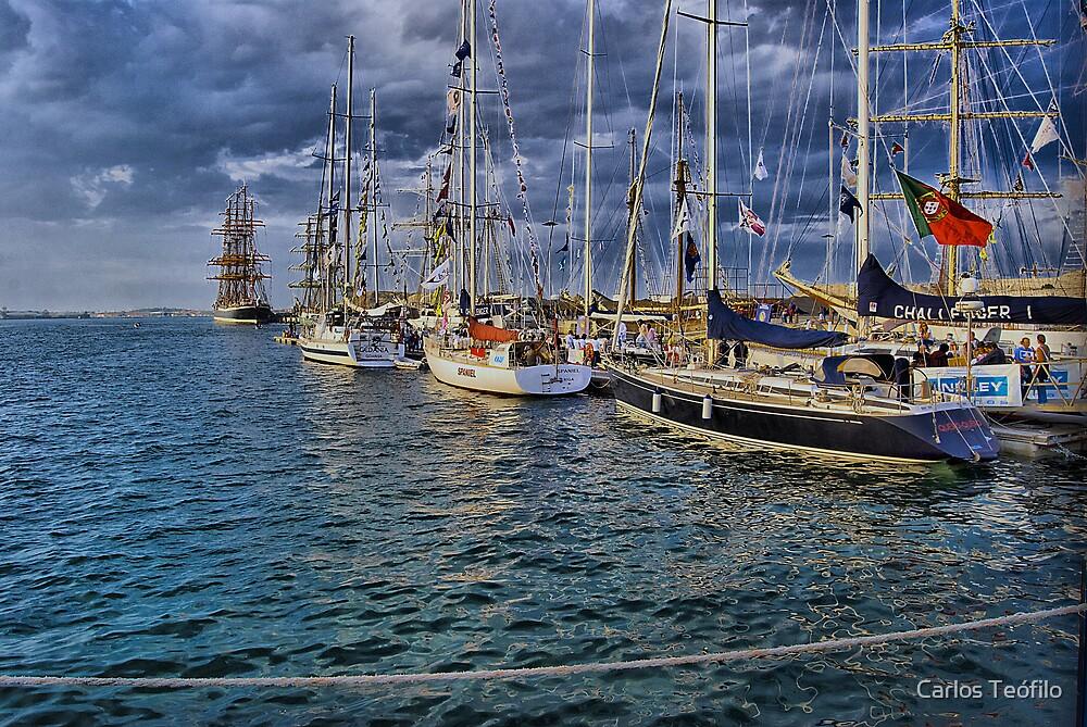 PARADE (Vessels visit Portugal serie) by Carlos Teófilo