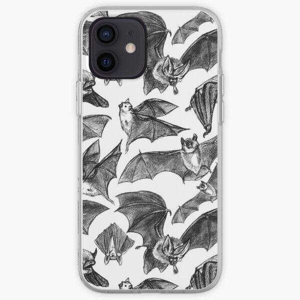 Bat pattern iPhone Soft Case