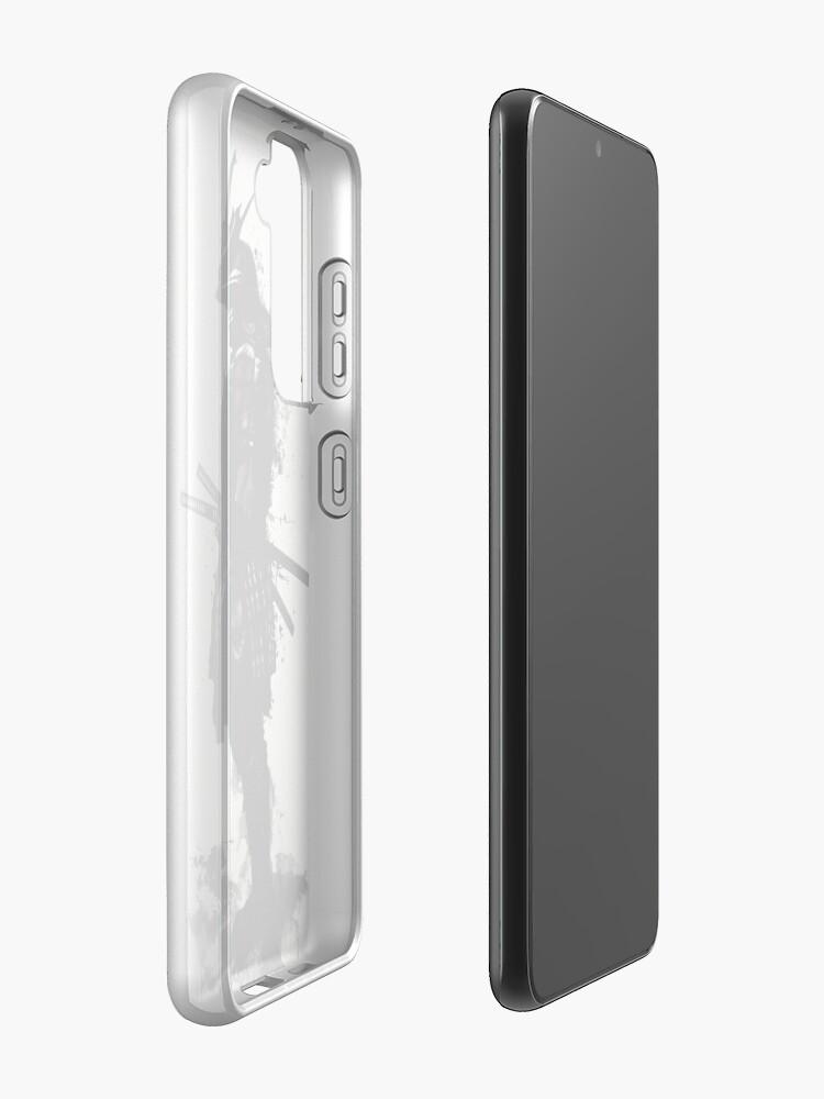 Alternate view of Armored Samurai Samsung Galaxy Phone Case