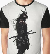 Gepanzerter Samurai Grafik T-Shirt