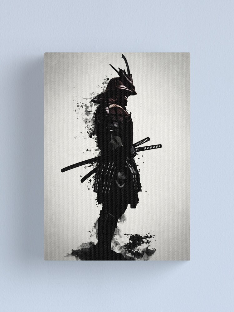 Alternate view of Armored Samurai Canvas Print