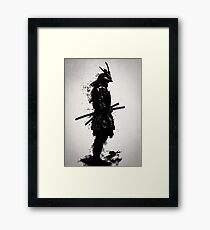 Armored Samurai Framed Print