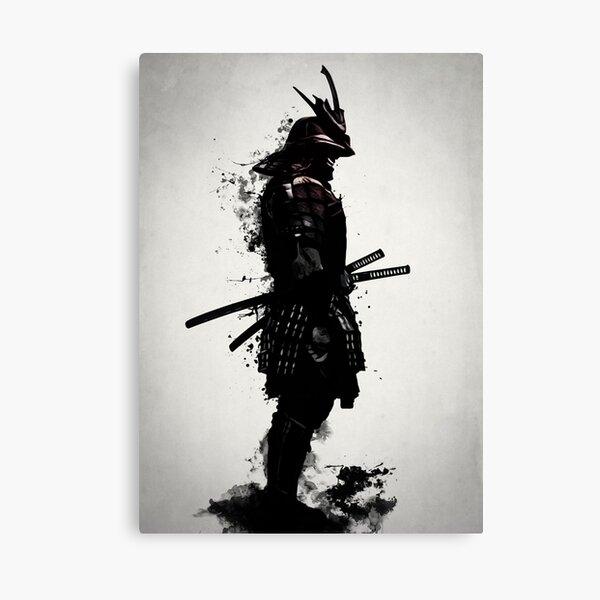 Samurai blindado Lienzo