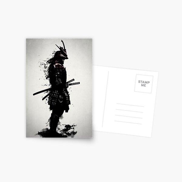 Armored Samurai Postcard