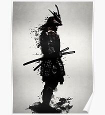 Armored Samurai Poster