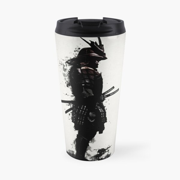 Armored Samurai Travel Mug