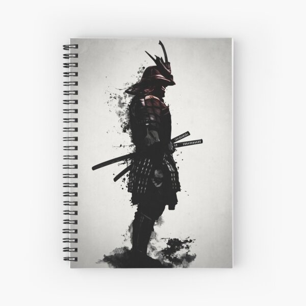 Armored Samurai Spiral Notebook