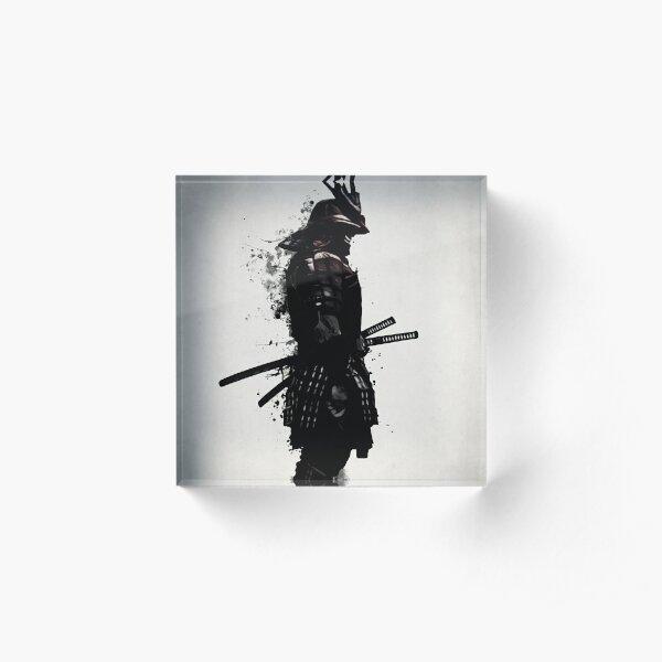 Armored Samurai Acrylic Block