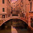 A foot bridge by Nigel Donald