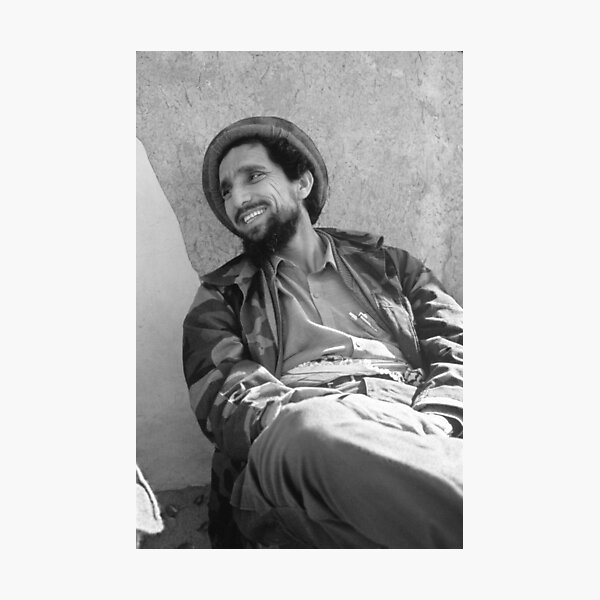 AHMAD SHAH MASSOUD Photographic Print