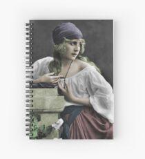 Gypsy Girl Spiral Notebook