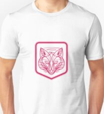 Fox Head Crest Monoline Unisex T-Shirt