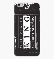 """""""You Come at the King, You Best Not Miss"""" - The Wire (Dark) iPhone Case"""