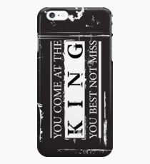 """""""You Come at the King, You Best Not Miss"""" - The Wire (Dark) iPhone 6s Plus Case"""