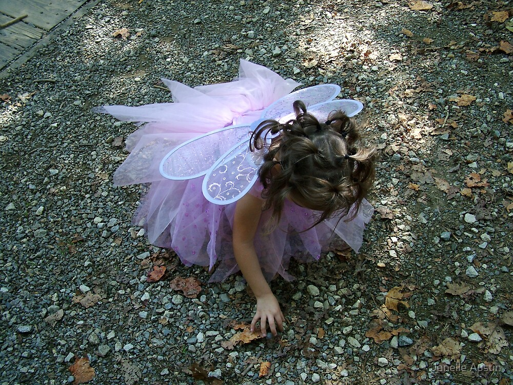 Carefree Fairy by Janelle Austin