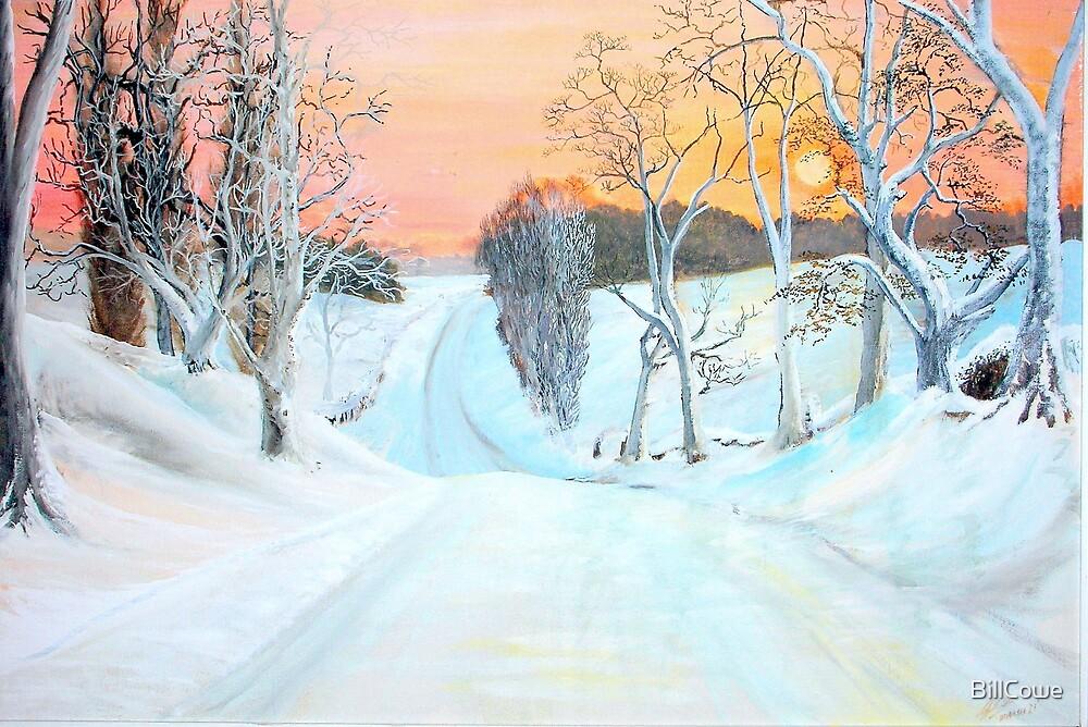 Snowscene near Howgate  (2) by BillCowe