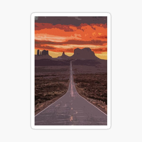 Arizona, Monument Valley Sticker