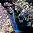 Trickle Falls by Gary Lengyel