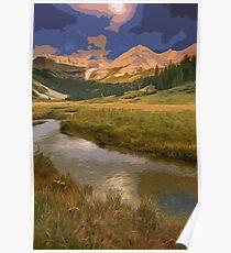 Glacier National Park in Autumn Poster