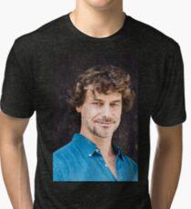 Alberto Angela - divulgo forte! Tri-blend T-Shirt