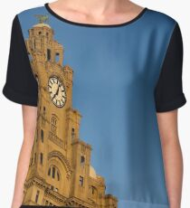 Royal Liver Building - Liverpool Chiffon Top
